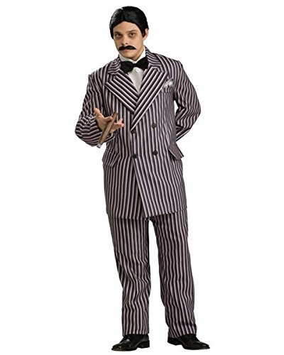 Rubie's The Addams Family Grand Heritage Gomez Mens Costume Grey -