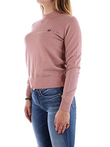 Knit Merino Rosa Fred Classic Neck Perry Crew Authentics qx8BSXwY