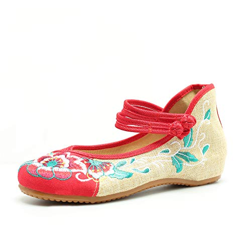 CINAK Embroidered Shoes Chinese Women