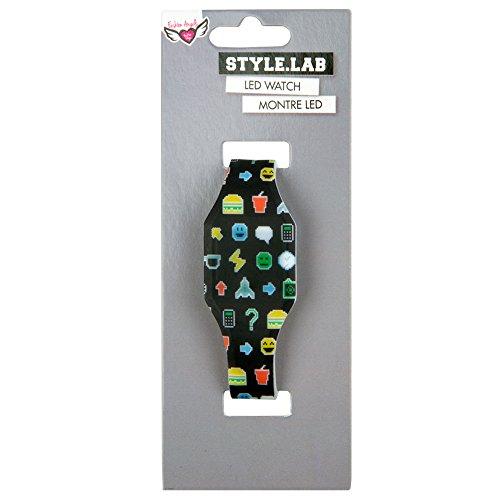 Pixel Emoji LED Watch