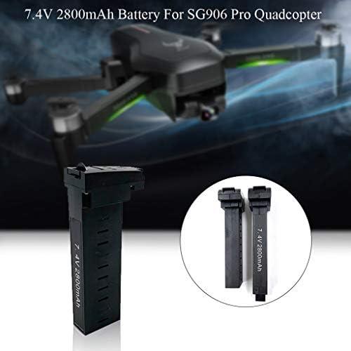 Bascar - Batería de repuesto para dron SG906 Pro GPS Quadcopter 7,4 V 2800 mAh recargable de alto rendimiento