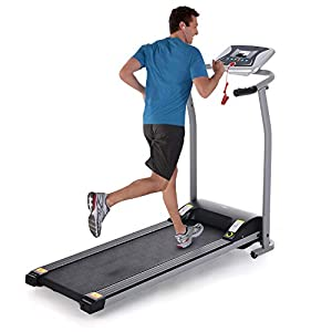 Folding Treadmills for Home, Electric Motorized Running Machine, Compact Exercise Treadmill w/LCD Display for Running and Walking Home Gym Office Use