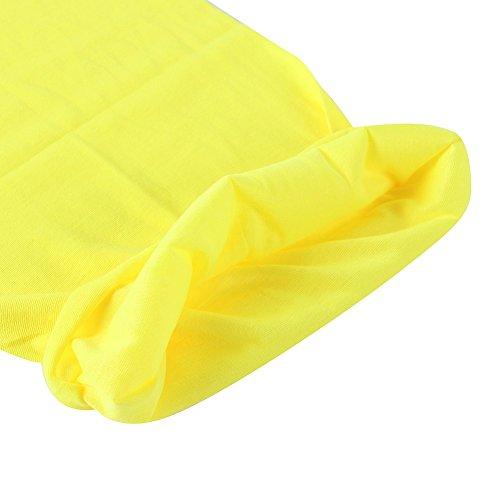 de amarillo color tela de multi Pa multiusos 2 uelo pa uelo bandana de tech EaW8qSw