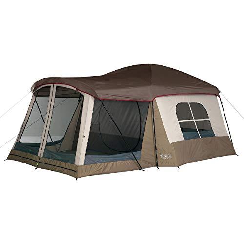 Wenzel Klondike 16 X 11 FEET 8 Person Family Cabin Dome Tent