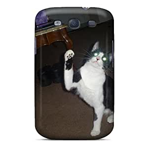 Fashionable Style Case Cover Skin For Galaxy S3- My Cat Sock