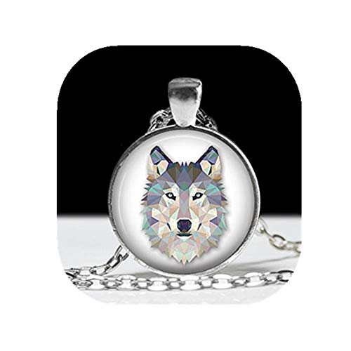 - Wolf Necklace Wolf Jewelry Necklace Wearable Art Pendant Charm Wolf Pendant