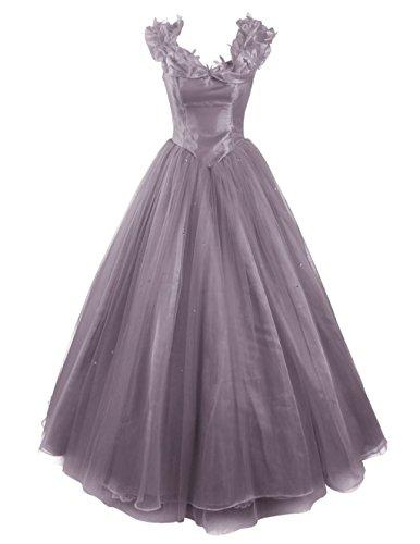 Dress Women's Bridal Prom Quinceanera Gown Cinderella Gray Dresses Ball Annie's vUPq8n8
