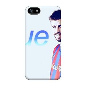 Tpu Fashionable Design The Player Of Barcelona Gerard Pique On Photo Session Rugged Case Cover For Iphone 5/5s New