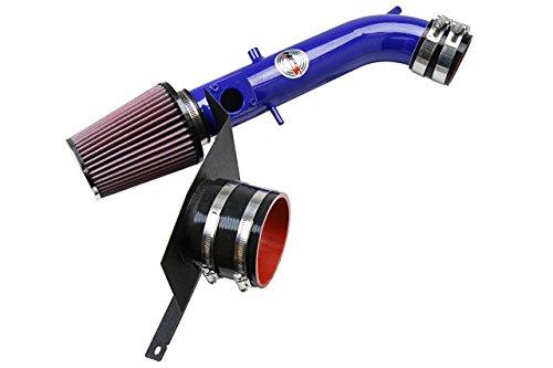 01-05 Lexus IS300 3.0L HPS Blue Shortram Air Intake Kit + Heat Shield Short Ram 02 03 ()