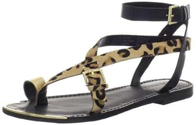 Boutique 9 Women's Pryalis5 Sandal,Black Multi,6.5 M US
