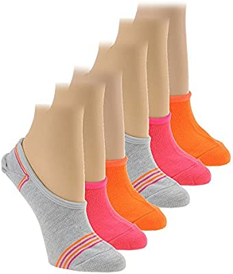 New Balance N200-6 Ultra Low No Show Socks 6//Pack