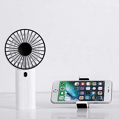 SmartDevil ventilador USB, recargable, mini ventilador de mano con ...