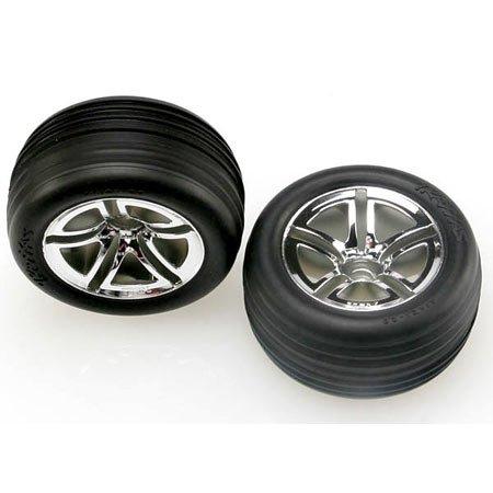Traxxas Alias Front Tires On Twin Spoke JATO (Traxxas Jato Hop Ups)
