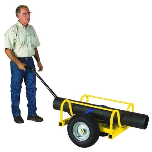 Capacity Pipe - Sumner Manufacturing 782685 Cricket Pipe Buggy with Flat Free Tires, 1,000 lb. Capacity