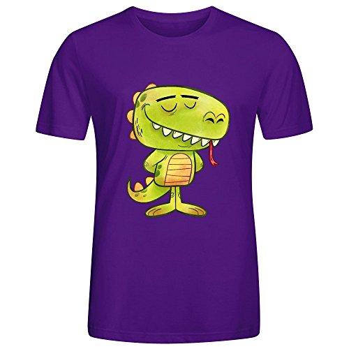 Anmals N Stuff Series 2 Lizard Adult Men Tees Purple