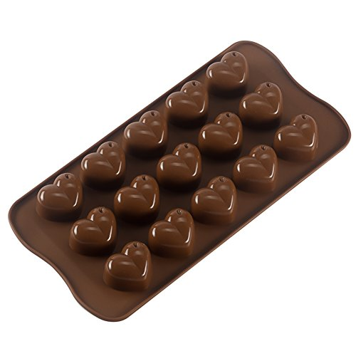 Bekith Silicone Gel Non-stick Chocolate, Jelly and Candy Mold, Cake Baking Mold (Set of 6) by Bekith (Image #2)