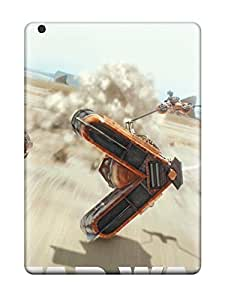 Fashion Tpu Case For Ipad Air- Star War Episode I 3d Defender YY-ONE