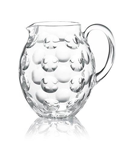Guzzini Venice Collection Beverage Pitcher, 67-1/2-Fluid Ounces, Transparent (Transparent Pitcher)
