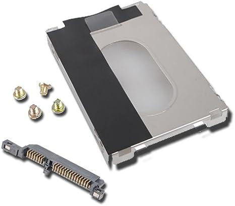 HP DV9000 HDD SATA Hard Drive Caddy /& Connector /& Screw