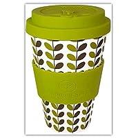 Happy Earth - Tazza da caffè in bambù