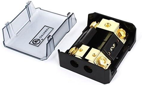 Auto Car Audio Caja de fusibles ANL 100A 1 en 2 de fusibles soporte del bloque: Amazon.es: Bricolaje y herramientas