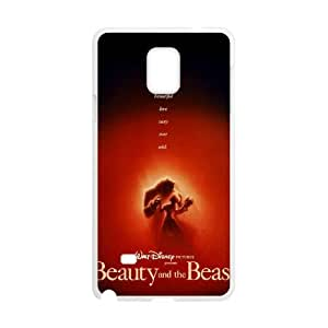 Disneys Beauty And The Beast Samsung Galaxy Note 4 Cell Phone Case White gife pp001_9310931