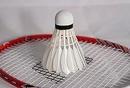 RiteFlite Feather Badminton Shuttlecocks 5-Pack by RiteTrak Sports