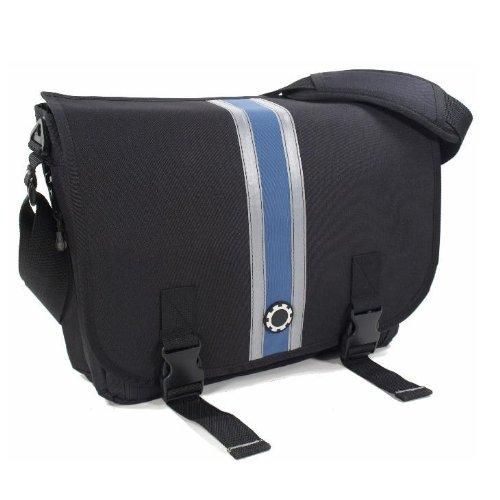 dadgear-messenger-diaper-bag-blue-center-stripe