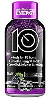 Eternal Energy 10 Hour Timed Release Energy Shot Grape
