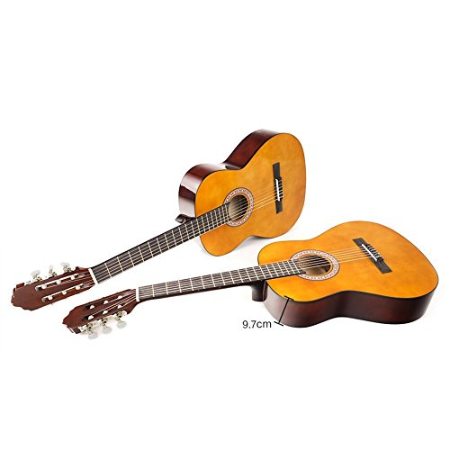 CNBLUE 3/4 Size Classical Acoustic Guitar 36 inch Nylon Strings Guitar for Beginners Kid Guitar - Image 7