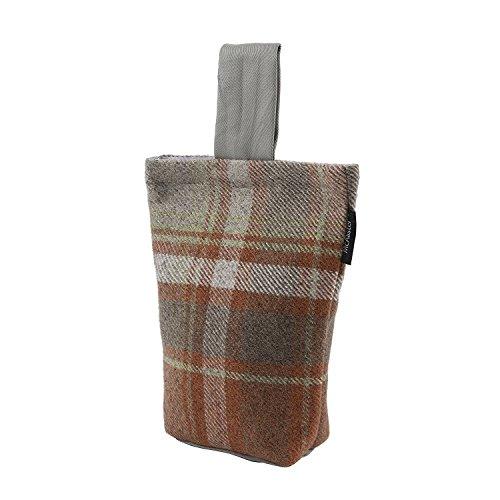 Weave Terra Cotta - McAlister Heritage Unfilled Decorative Fabric Door Stop | 8x6