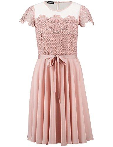 TAIFUN Damen Kleid Gewebe Misty Rose nny6n - mci.konstruktionsbuero ... 02124578f6