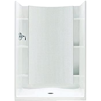 Sterling Plumbing 72250100-0 Accord Shower Kit, 42-Inch x 36-Inch x ...