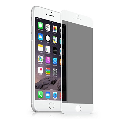 iPhone 6s Plus 6 Plus Privacy Tempered Glass Screen Protector,VIEE HD Clear Privacy Tempered Glass Screen Protector Replacement for iPhone 6/6S Plus,Eye Protection 2.5D (6/6S - Screen Break 6 Iphone Anti
