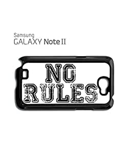 No Rules Rude Fresh Mobile Cell Phone Case Samsung Note 2 Black