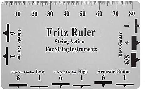 Fritz Ruler 2019 - Regla para guitarra: Amazon.es: Bricolaje y ...