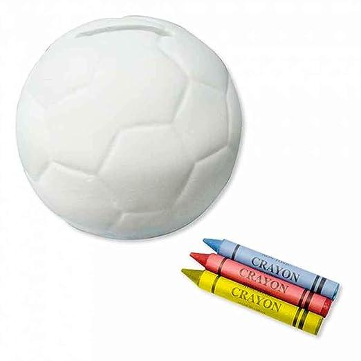The Collection Lote de 6 Huchas con Forma balón de fútbol ...