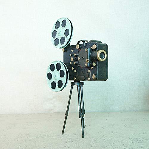 ksjdjok - Accesorios de Cine Vintage con proyector de Cine sobre ...