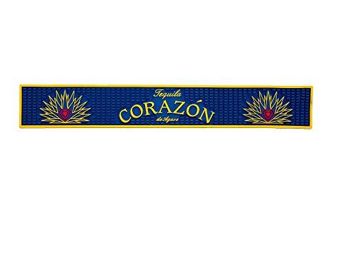Corazon Tequila Bar Rail Drip Mat