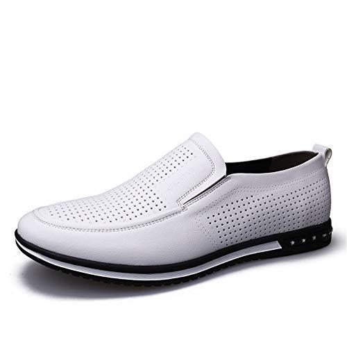 Business Casual Casual EU cavo confortevoli Hollow Bianco formali 2018 Summer Dimensione 39 Cavo convenzionale da Oxford opzionale Pelle Jiuyue New Scarpe shoes Color Scarpe Uomo uomo Bianco 0qpEp