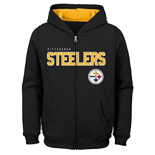 Outerstuff NFL Little NFL Kids & Youth Boys Stated Full Zip Fleece Hoodie, Multi, Kids Small(4) Big Kids Multi Apparel