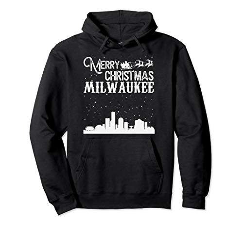 Merry Christmas Y'all Milwaukee City pullover