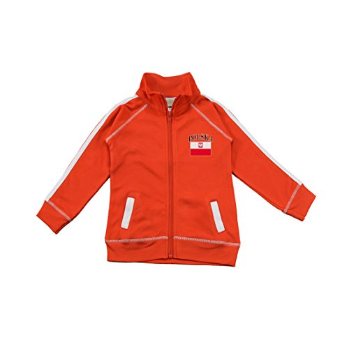 PAM GM Little Boys Poland Soccer Track Jacket 6X/7 Years by Pam GM Concepts