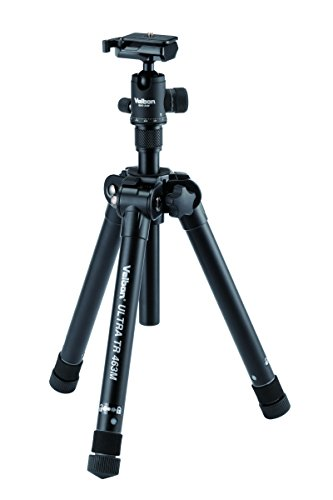 - Velbon Ultra TR 463M Compact Tripod with Ball Head and Detachable Center Column