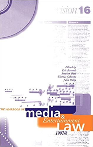 Volume 3 The Yearbook of Media and Entertainment Law 1997//98