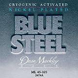 Dean Markley Blue Steel 2673A Bass Guitar Strings, NPS, Light, 4-String, 45-100