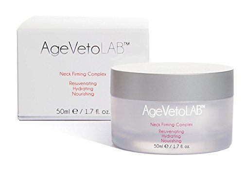 Neck Firming Cream Rejuvenating Moisturizing Reduce Wrinkle Appearance Complex By AgeVeto 50Ml (1.7 Oz) by AgeVetoLab