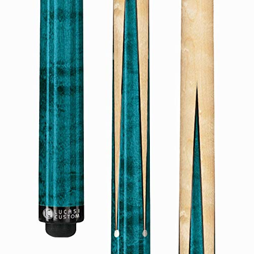 LUCASI LZ2000SP Custom Sneaky Pete Pool Cue Stick with Zero Flexpoint Low Deflection Shaft & Uni-loc Quick Release Joint (Pearl Pool Stick)