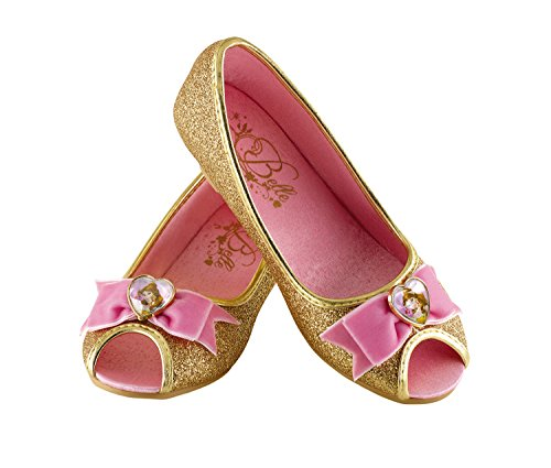 [Disguise Belle Disney Princess Beauty & The Beast Prestige Shoes, 2/3 X-Large] (Belle Halloween Costumes For Women)