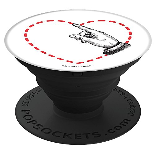 PopSockets Cell Phone Stands  Smartphones amp Tablets  quotClip Art Hand Drawing Heartquot